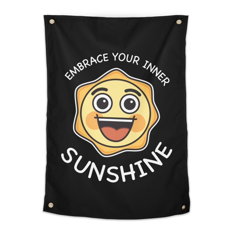 Embrace your Inner Sunshine Home Tapestry by Treemanjake