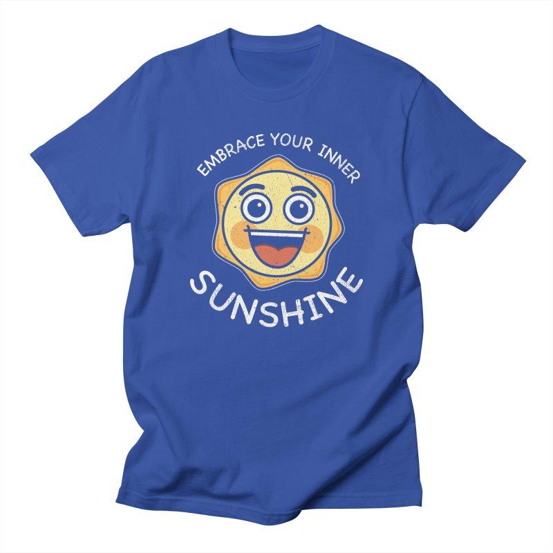 Embrace your Inner Sunshine Men's T-Shirt by Treemanjake
