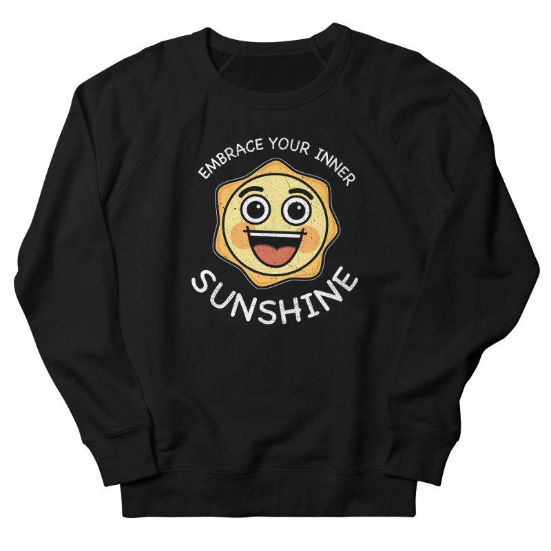Embrace your Inner Sunshine Men's French Terry Sweatshirt by Treemanjake