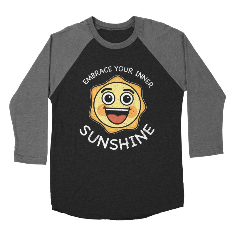 Embrace your Inner Sunshine Women's Baseball Triblend Longsleeve T-Shirt by Treemanjake