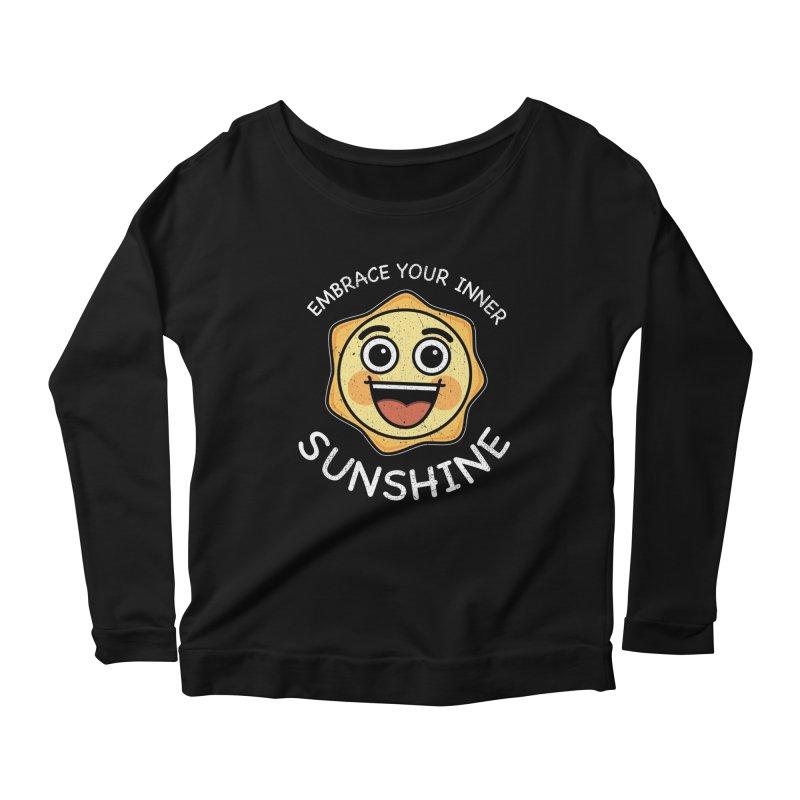 Embrace your Inner Sunshine Women's Scoop Neck Longsleeve T-Shirt by Treemanjake