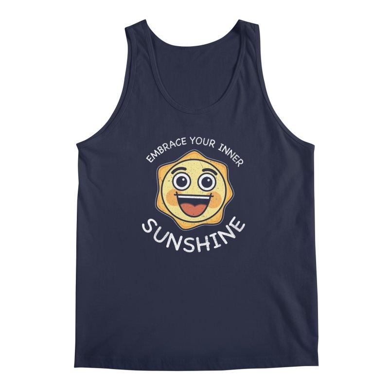 Embrace your Inner Sunshine Men's Regular Tank by Treemanjake