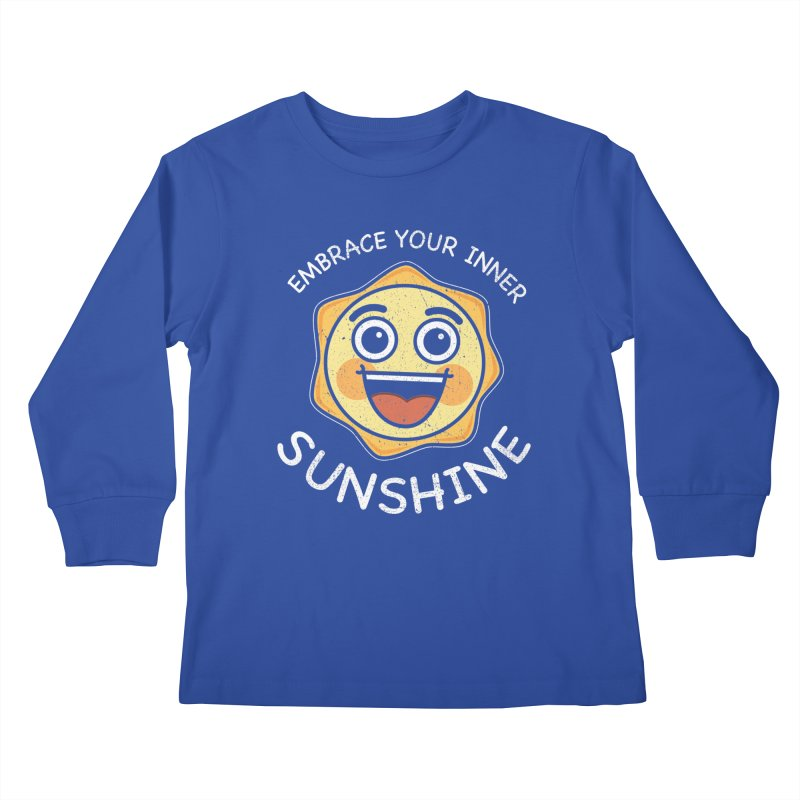 Embrace your Inner Sunshine Kids Longsleeve T-Shirt by Treemanjake