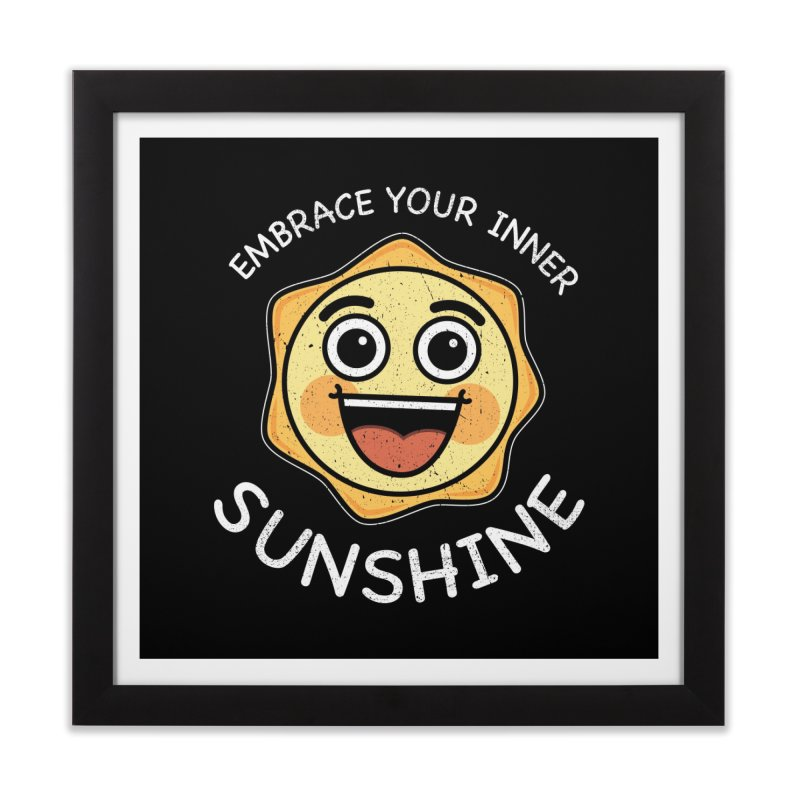 Embrace your Inner Sunshine Home Framed Fine Art Print by Treemanjake