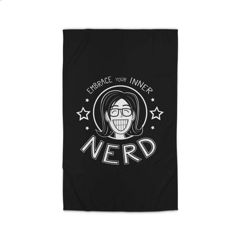Nerd Girl Home Rug by Treemanjake