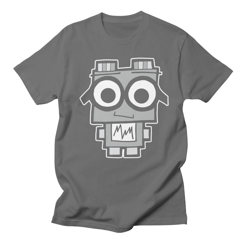 Nerdy Robot Men's T-Shirt by Treemanjake