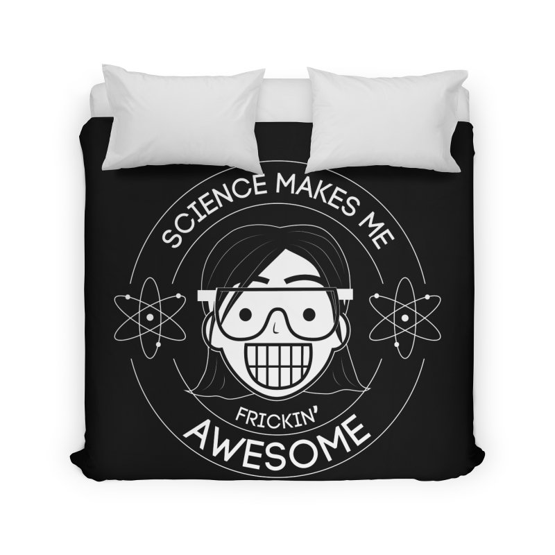 Science Girl Home Duvet by Treemanjake