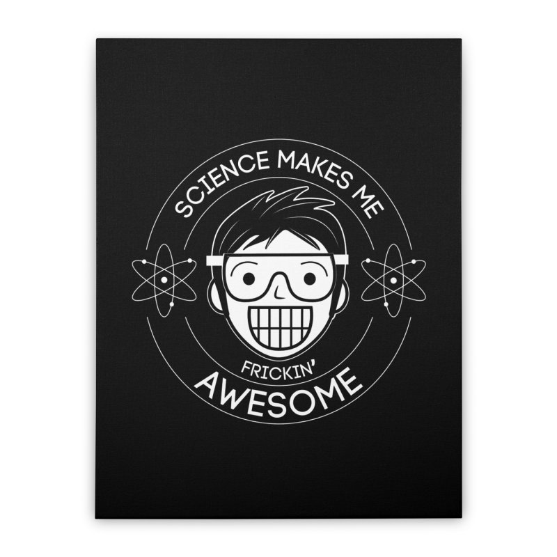 Science Guy Home Stretched Canvas by Treemanjake