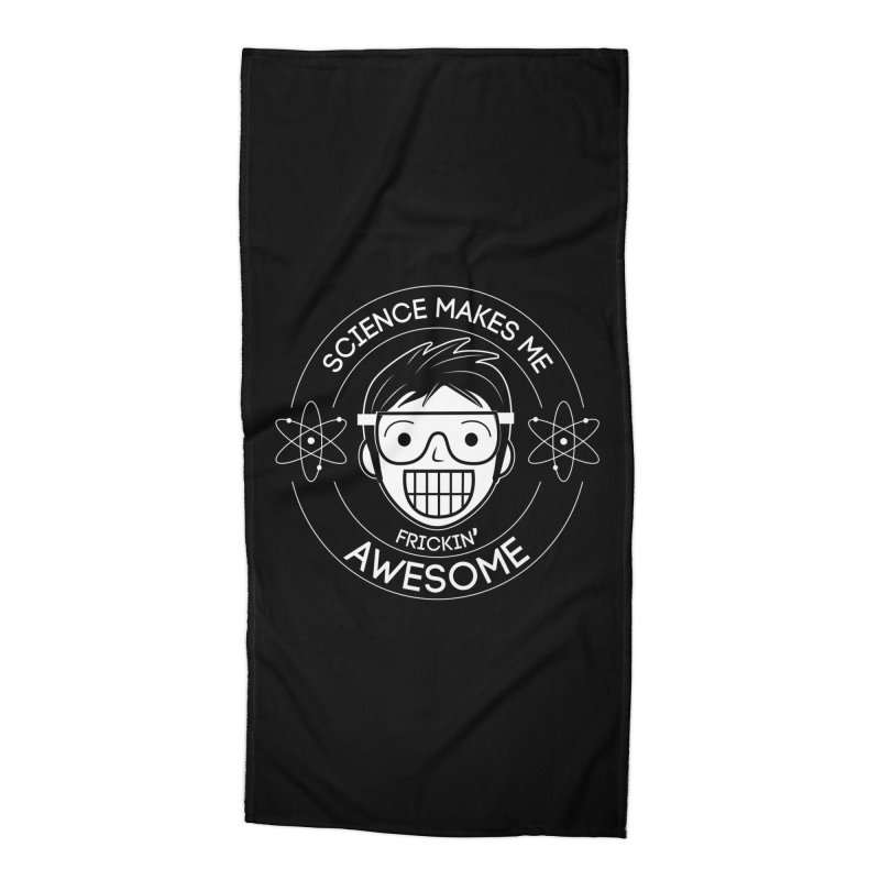 Science Guy Accessories Beach Towel by Treemanjake