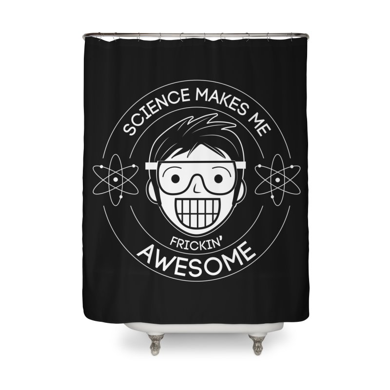 Science Guy Home Shower Curtain by Treemanjake