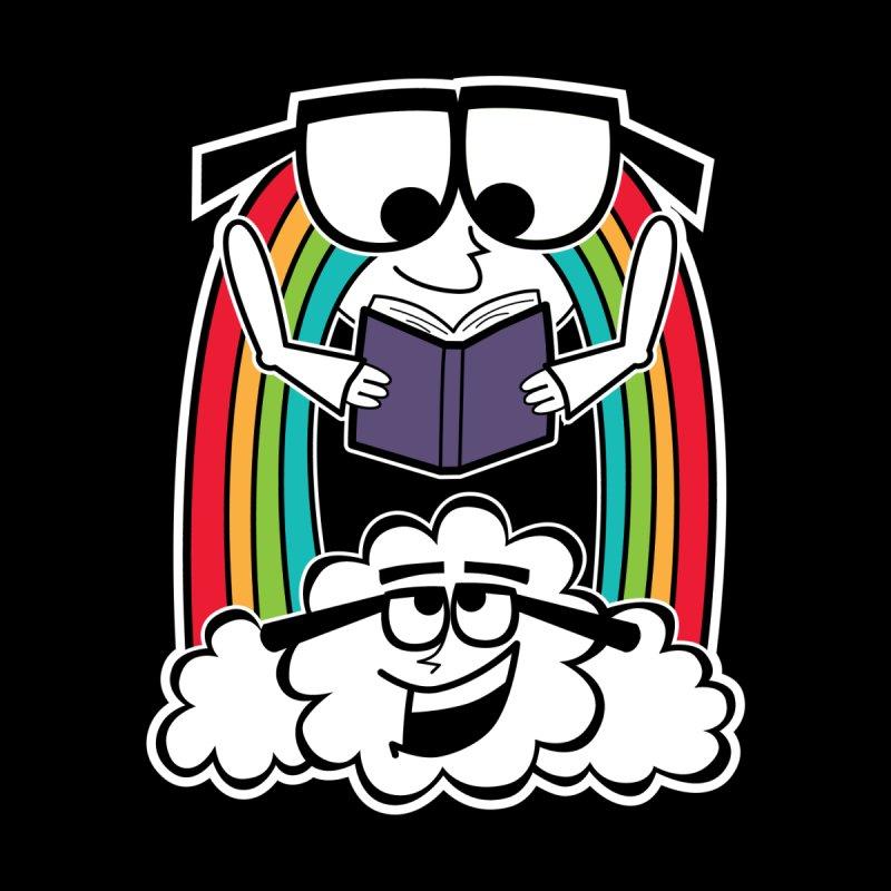 Mr. Rainbow Men's Zip-Up Hoody by Treemanjake