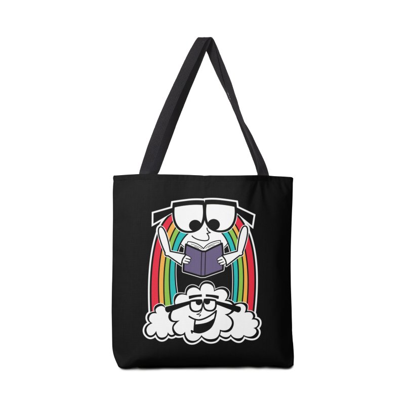 Mr. Rainbow Accessories Tote Bag Bag by Treemanjake