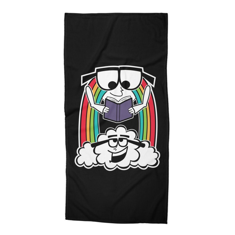 Mr. Rainbow Accessories Beach Towel by Treemanjake