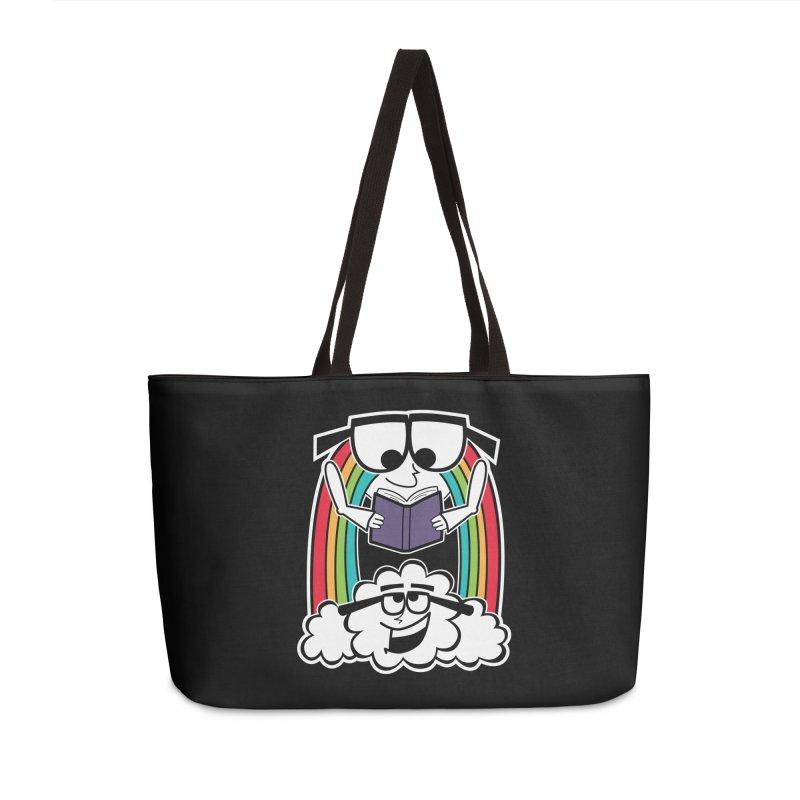 Mr. Rainbow Accessories Weekender Bag Bag by Treemanjake