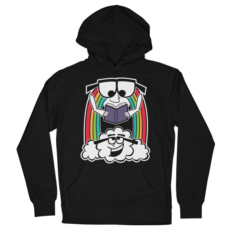 Mr. Rainbow Men's French Terry Pullover Hoody by Treemanjake