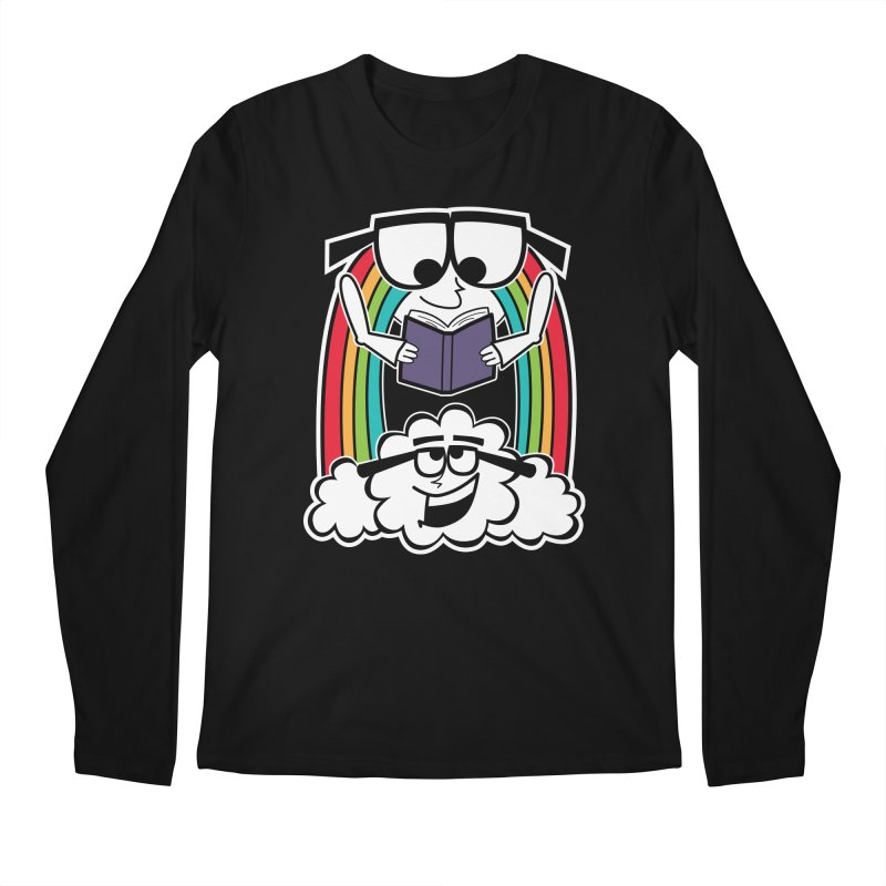 Mr. Rainbow Men's Regular Longsleeve T-Shirt by Treemanjake