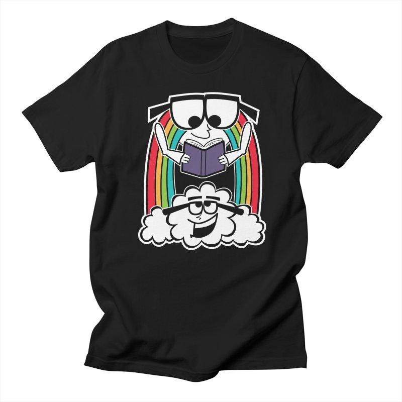 Mr. Rainbow Men's Regular T-Shirt by Treemanjake
