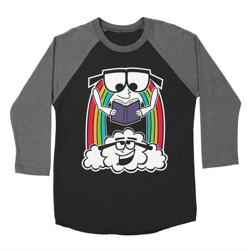 Mr. Rainbow Men's Baseball Triblend Longsleeve T-Shirt by Treemanjake