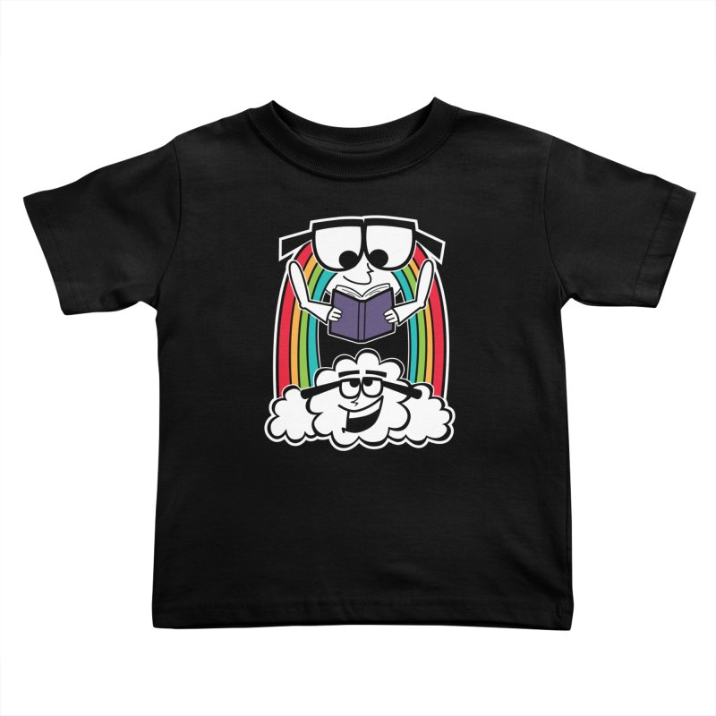 Mr. Rainbow Kids Toddler T-Shirt by Treemanjake