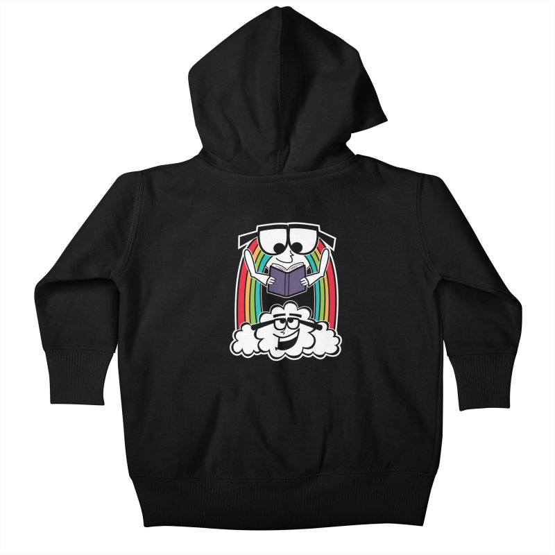 Mr. Rainbow Kids Baby Zip-Up Hoody by Treemanjake