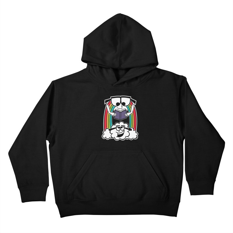 Mr. Rainbow Kids Pullover Hoody by Treemanjake