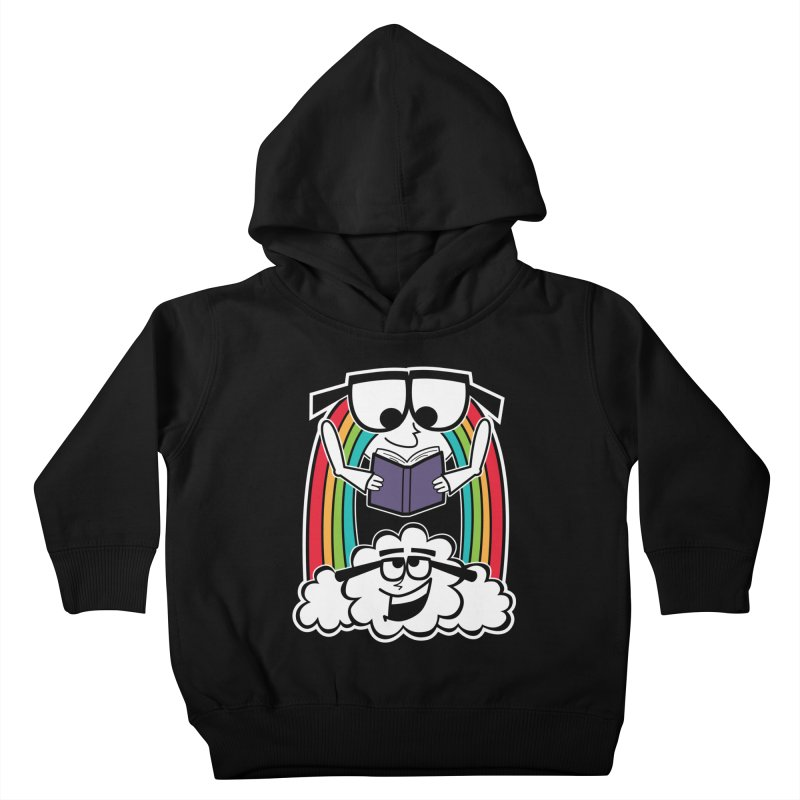 Mr. Rainbow Kids Toddler Pullover Hoody by Treemanjake