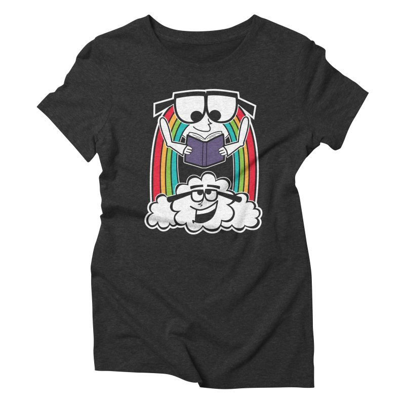 Mr. Rainbow Women's Triblend T-Shirt by Treemanjake