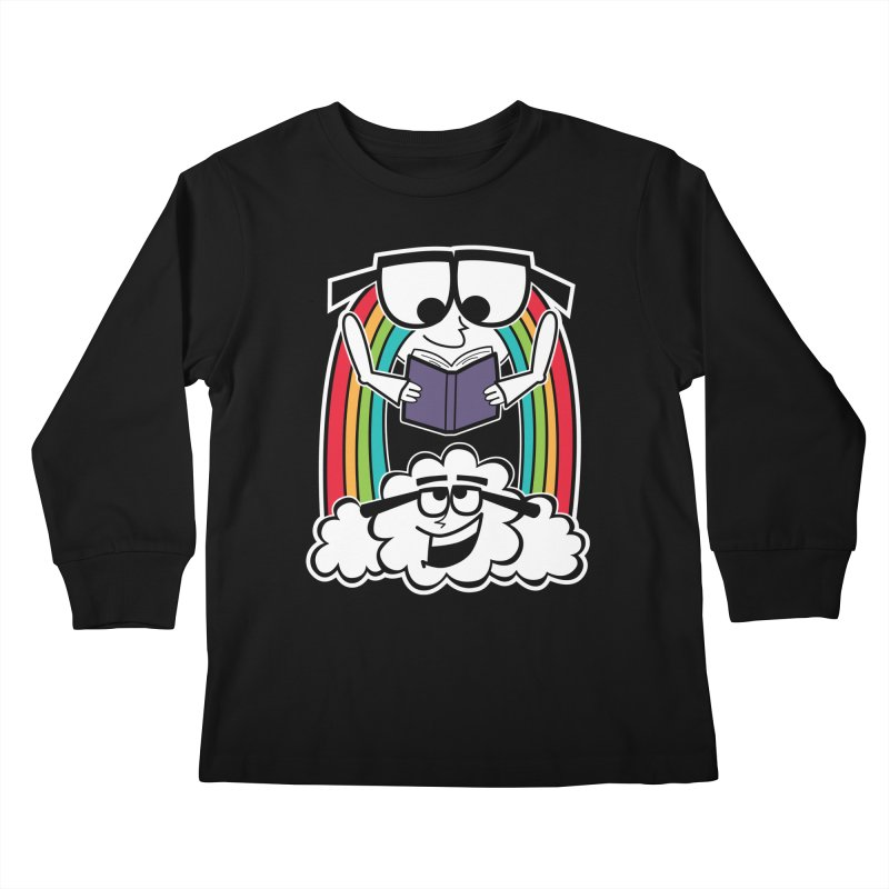 Mr. Rainbow Kids Longsleeve T-Shirt by Treemanjake
