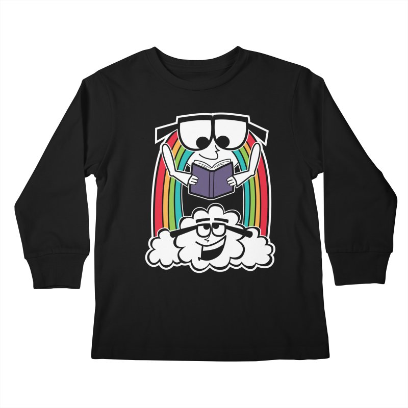 Mr. Rainbow Kids Longsleeve T-Shirt by Treemanjake
