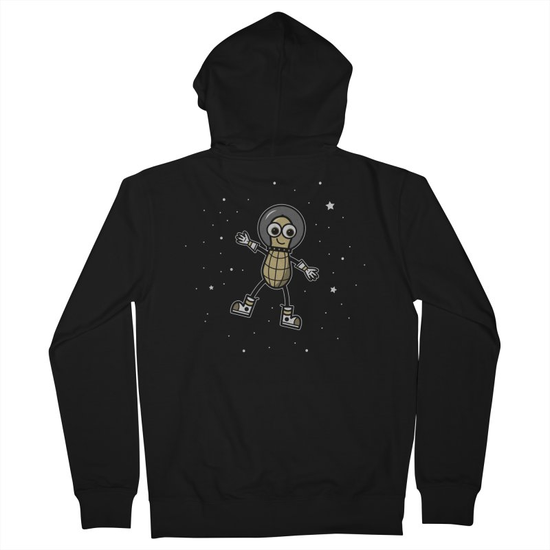 Astronutty Women's French Terry Zip-Up Hoody by Treemanjake