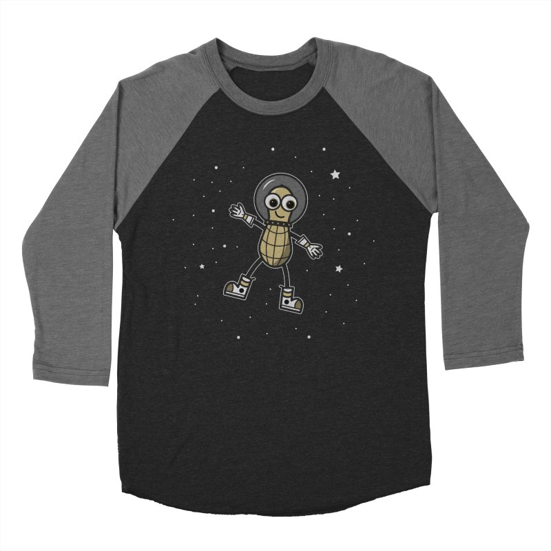 Astronutty Women's Baseball Triblend Longsleeve T-Shirt by Treemanjake