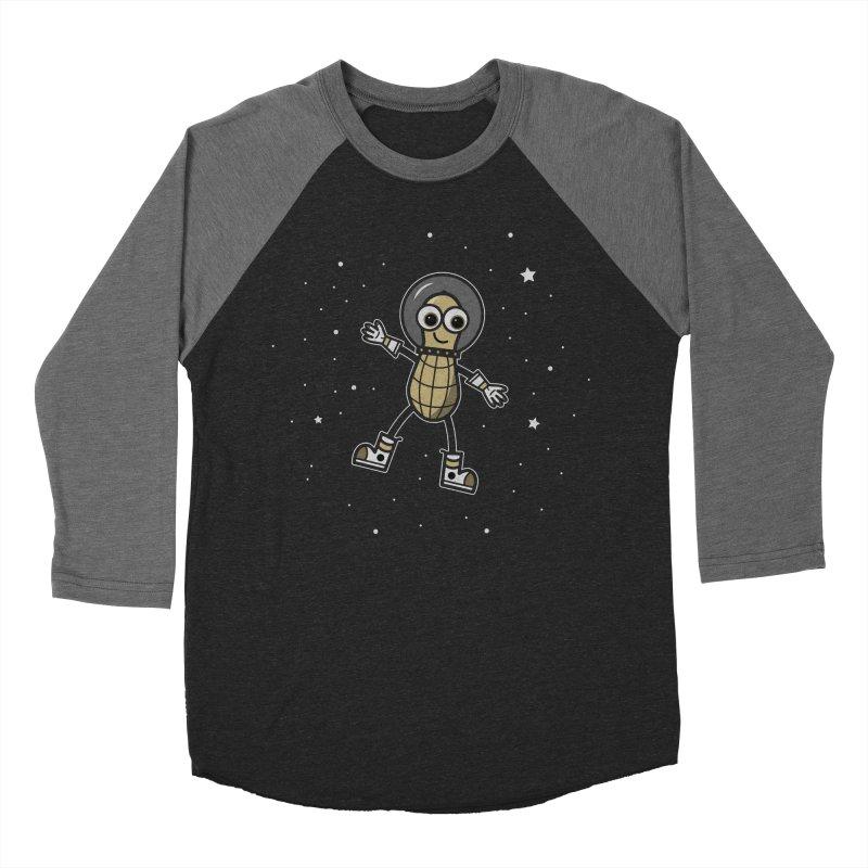 Astronutty Men's Baseball Triblend Longsleeve T-Shirt by Treemanjake