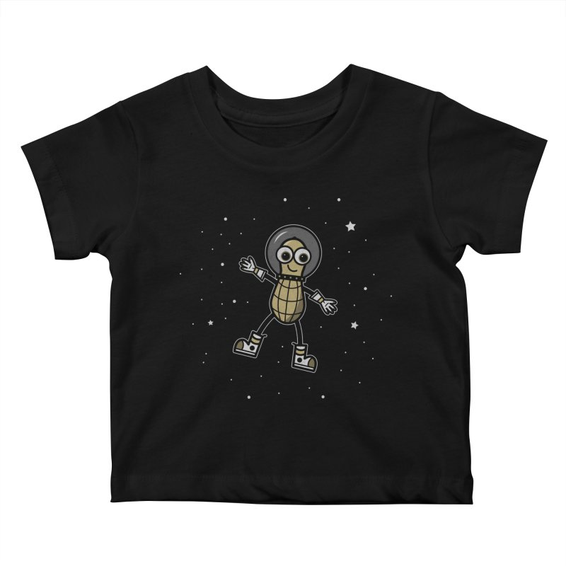 Astronutty Kids Baby T-Shirt by Treemanjake