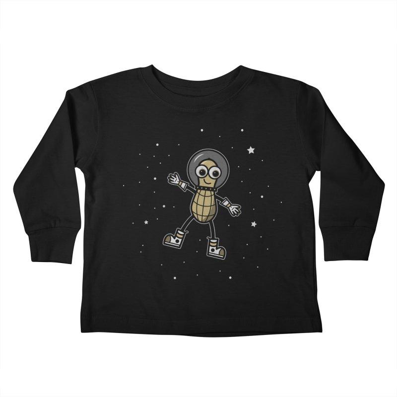 Astronutty Kids Toddler Longsleeve T-Shirt by Treemanjake
