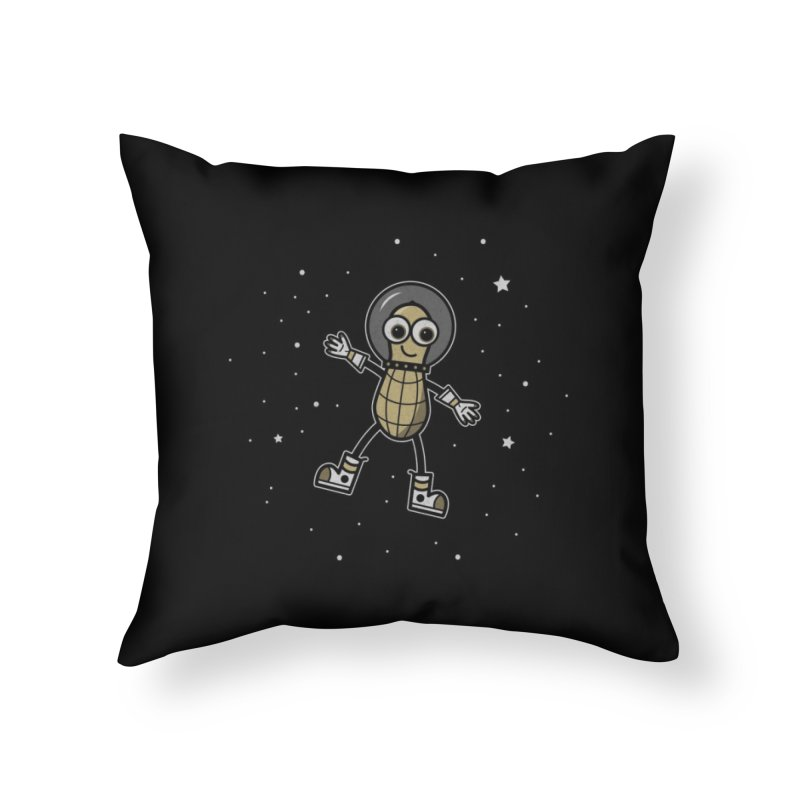 Astronutty Home Throw Pillow by Treemanjake