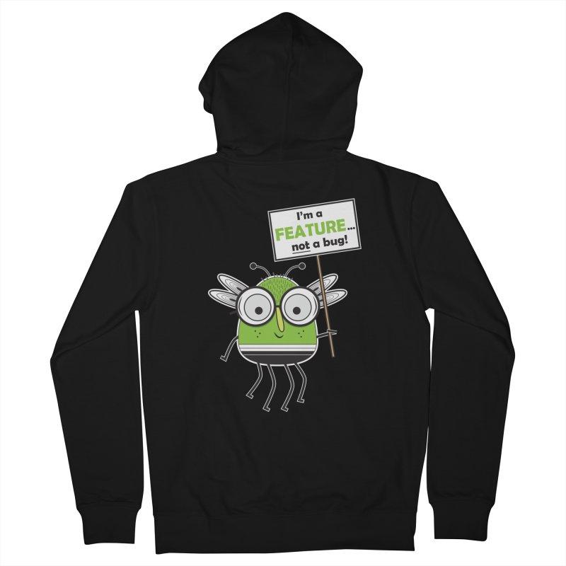 I'm not a bug Men's Zip-Up Hoody by Treemanjake