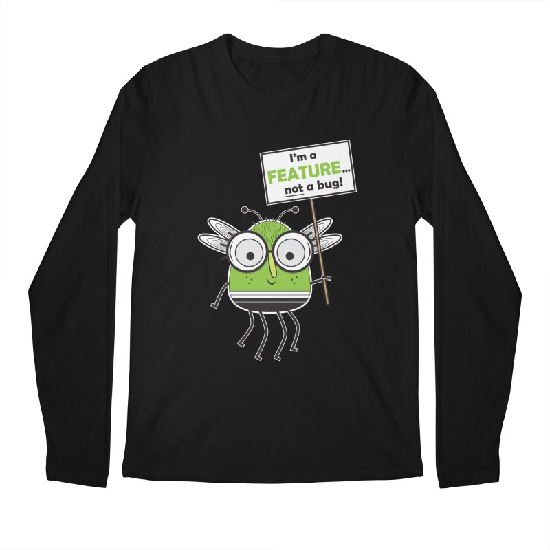 I'm not a bug Men's Regular Longsleeve T-Shirt by Treemanjake