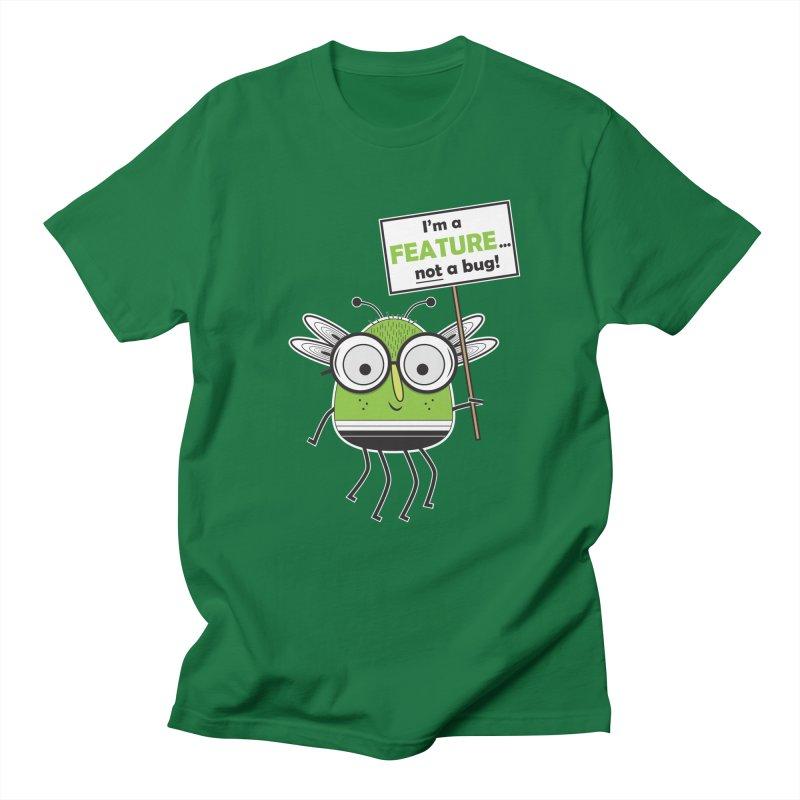 I'm not a bug Men's Regular T-Shirt by Treemanjake