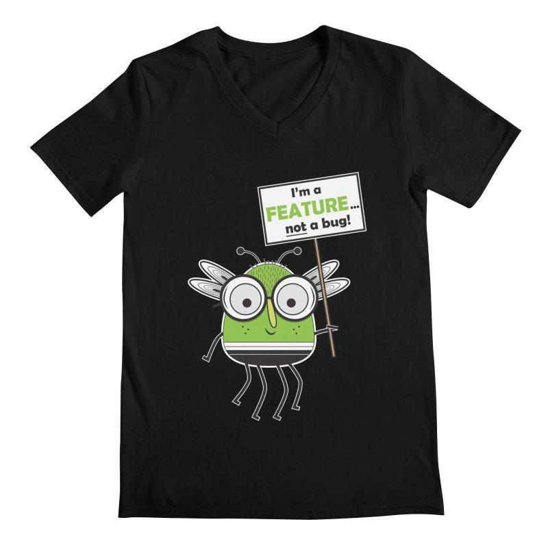 I'm not a bug Men's Regular V-Neck by Treemanjake