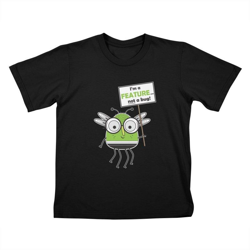 I'm not a bug Kids T-Shirt by Treemanjake