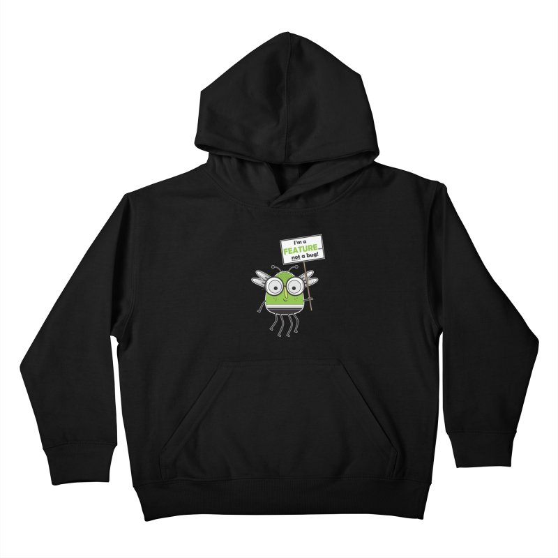 I'm not a bug Kids Pullover Hoody by Treemanjake