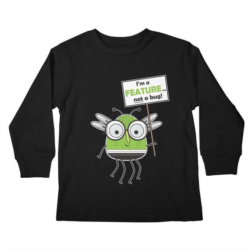 I'm not a bug Kids Longsleeve T-Shirt by Treemanjake
