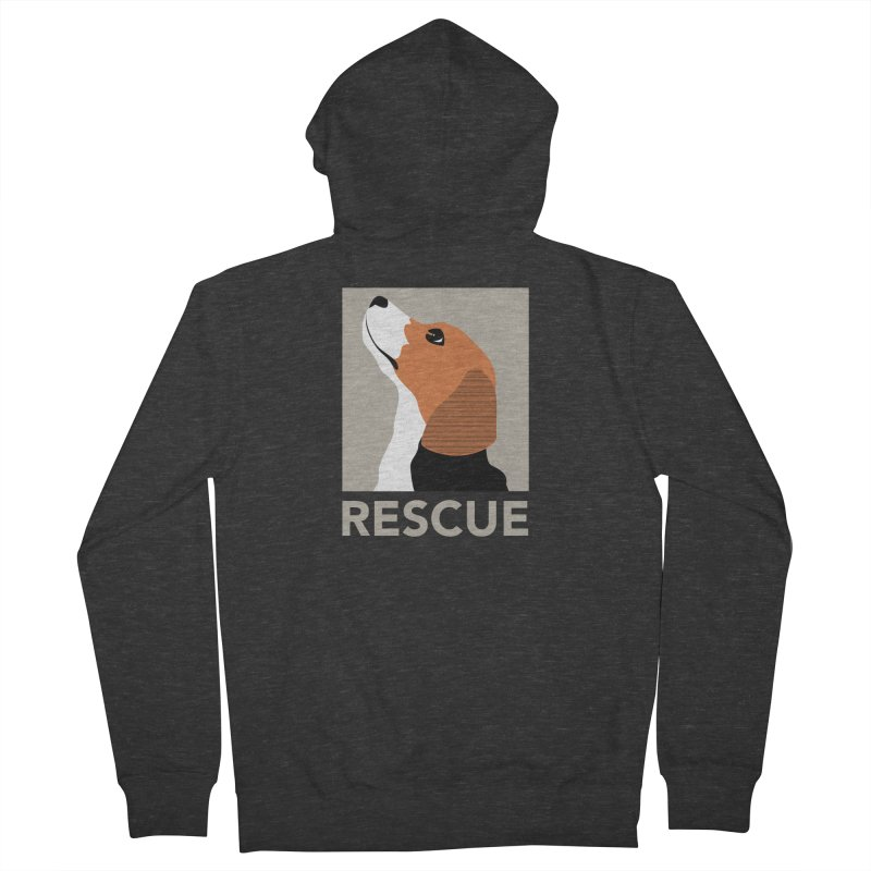 Rescue Men's Zip-Up Hoody by trekvix's Artist Shop