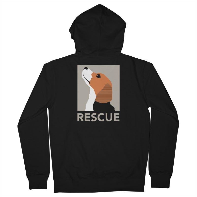 Rescue Men's Zip-Up Hoody by trekvix's Artist Shop
