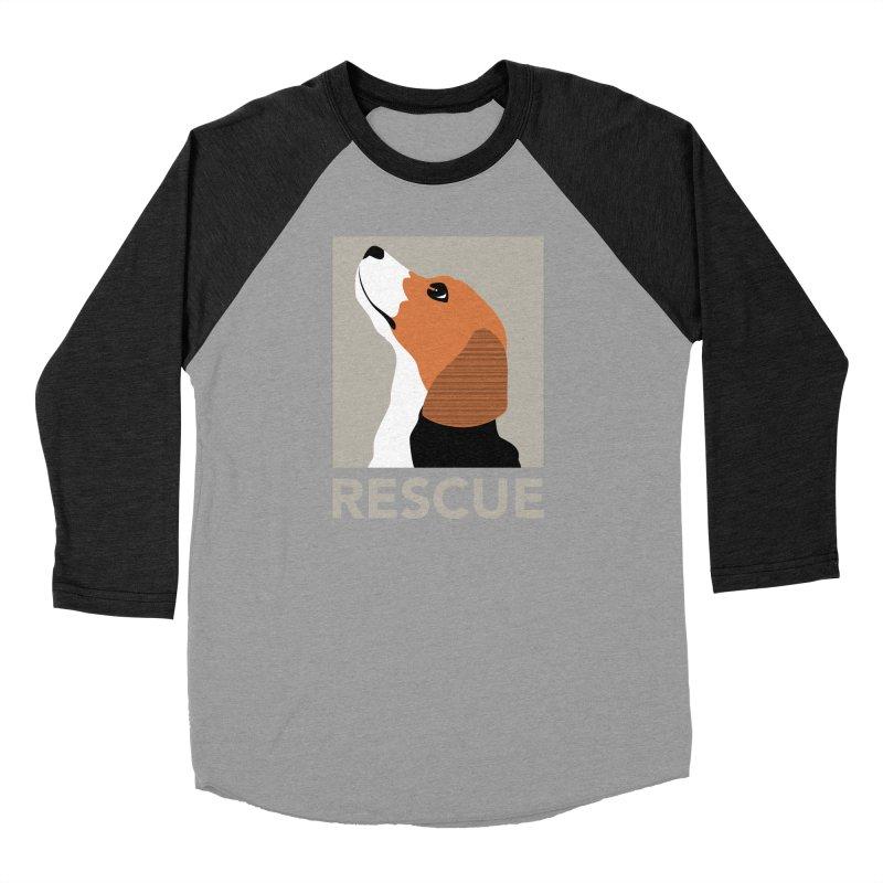 Rescue Men's Baseball Triblend T-Shirt by trekvix's Artist Shop