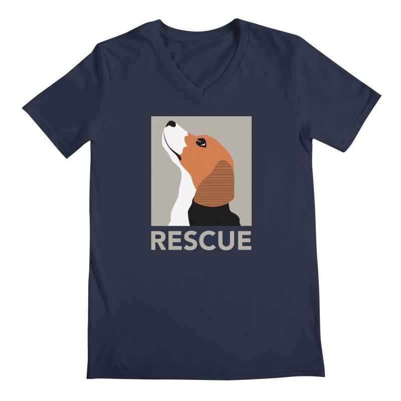 Rescue Men's V-Neck by trekvix's Artist Shop