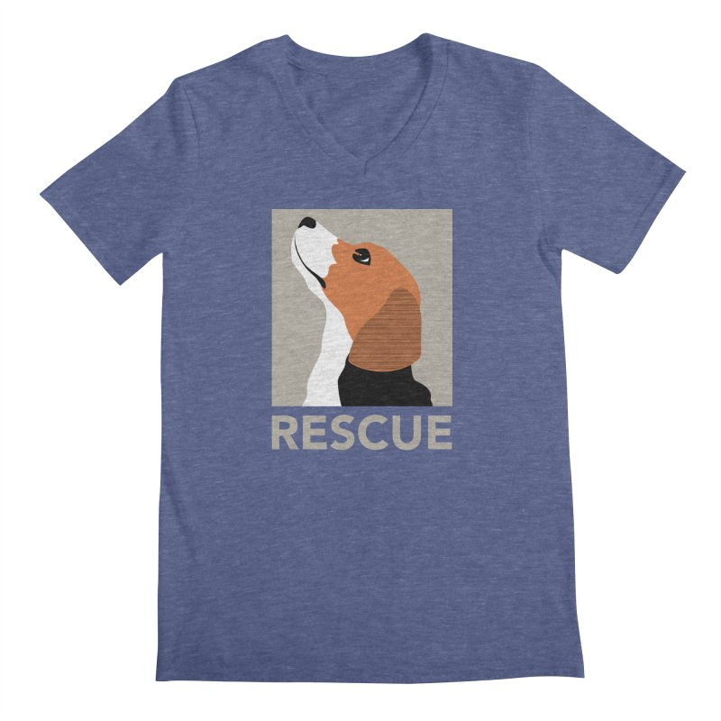 Rescue Men's V-Neck by trekvix's Artist Shop