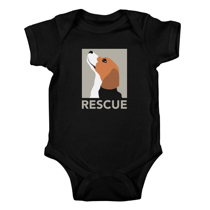 Rescue Kids Baby Bodysuit by trekvix's Artist Shop