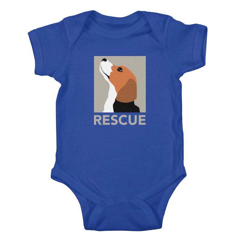 Rescue Kids Baby Bodysuit by trekvix's Artist Shop