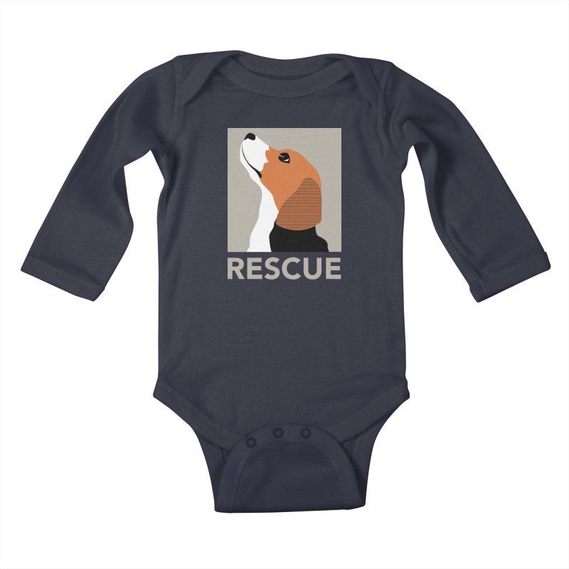 Rescue Kids Baby Longsleeve Bodysuit by trekvix's Artist Shop